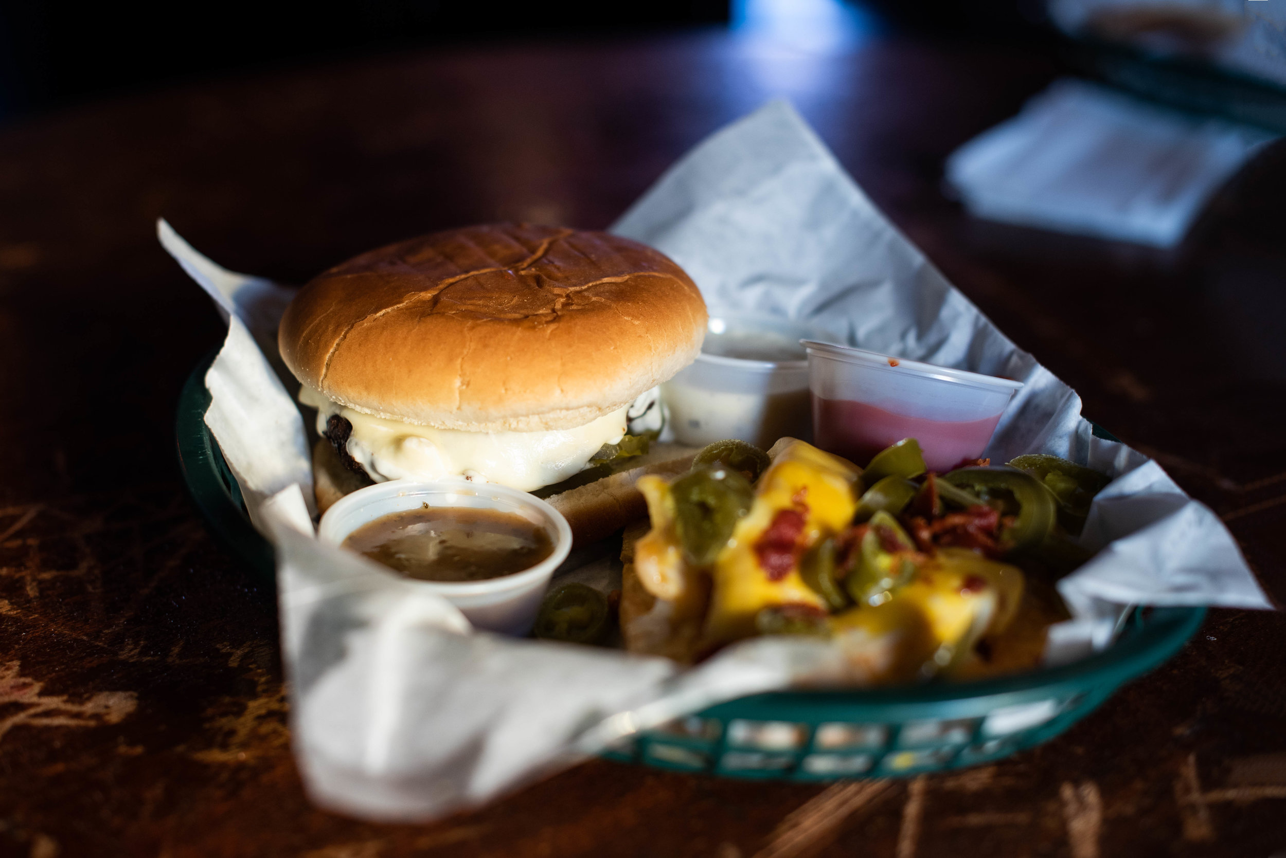 The Blarney Stone burger