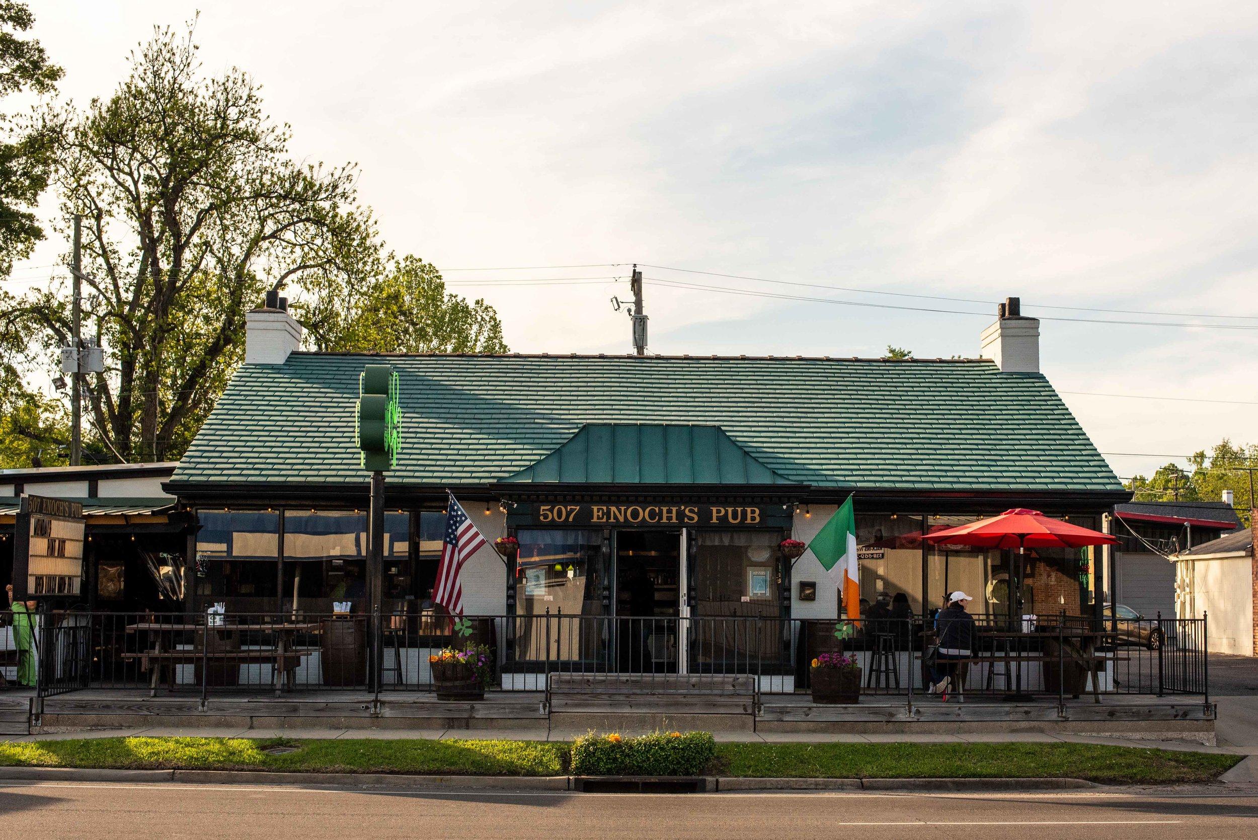 Enoch's Pub.