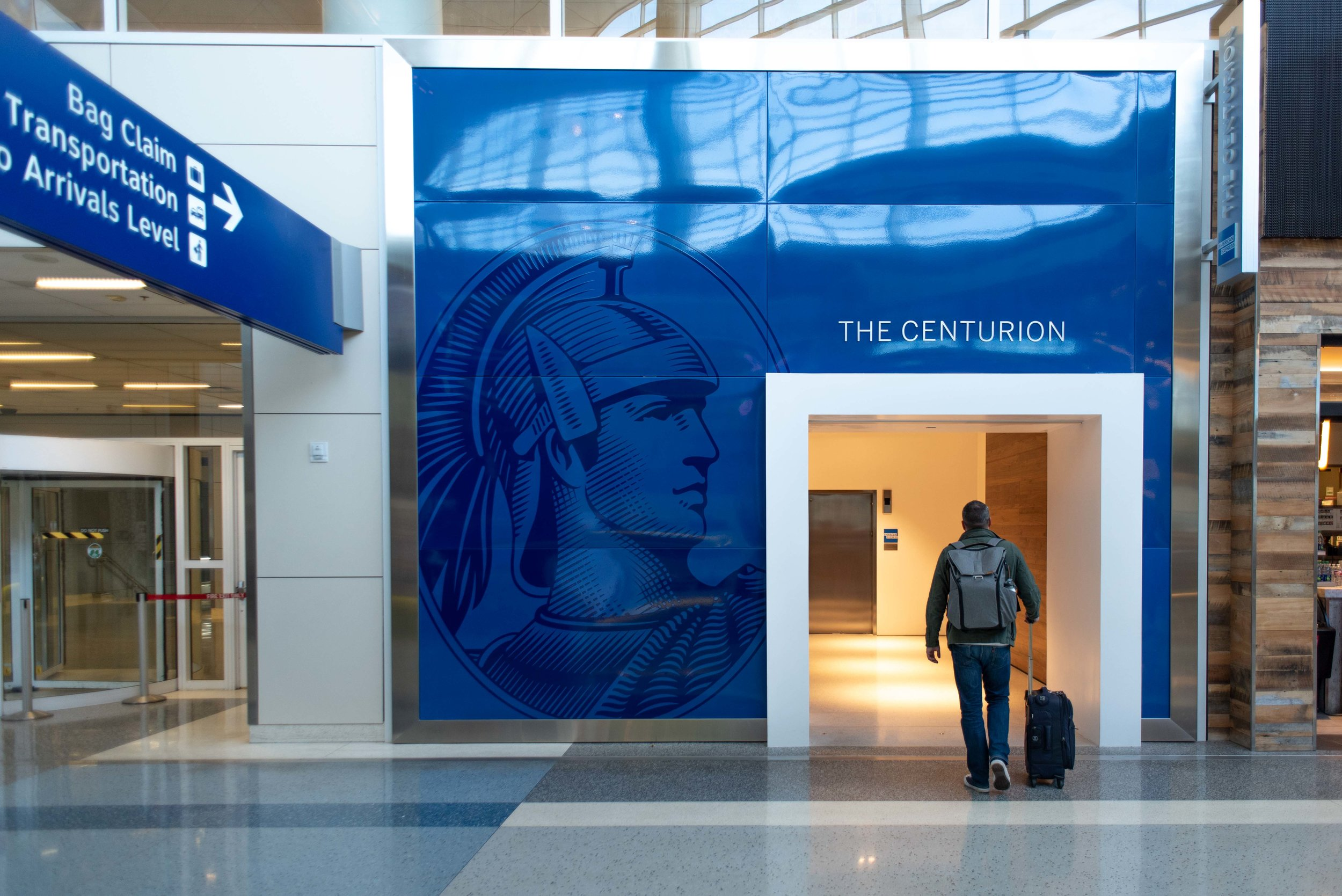 Our favorite lounges are the American Express Centurions.
