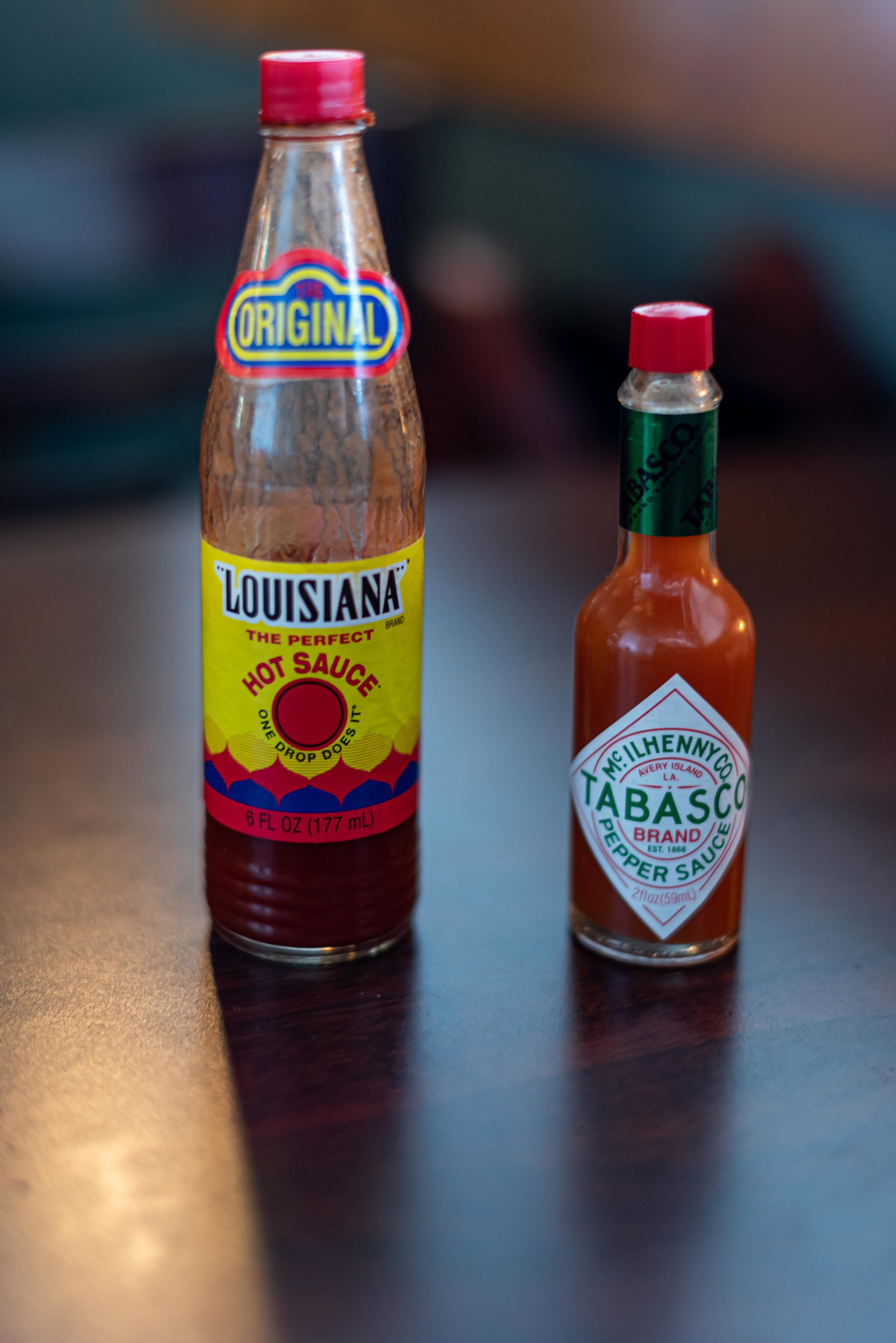 No matter what anyone says, Louisiana hot sauce is better than tabasco.