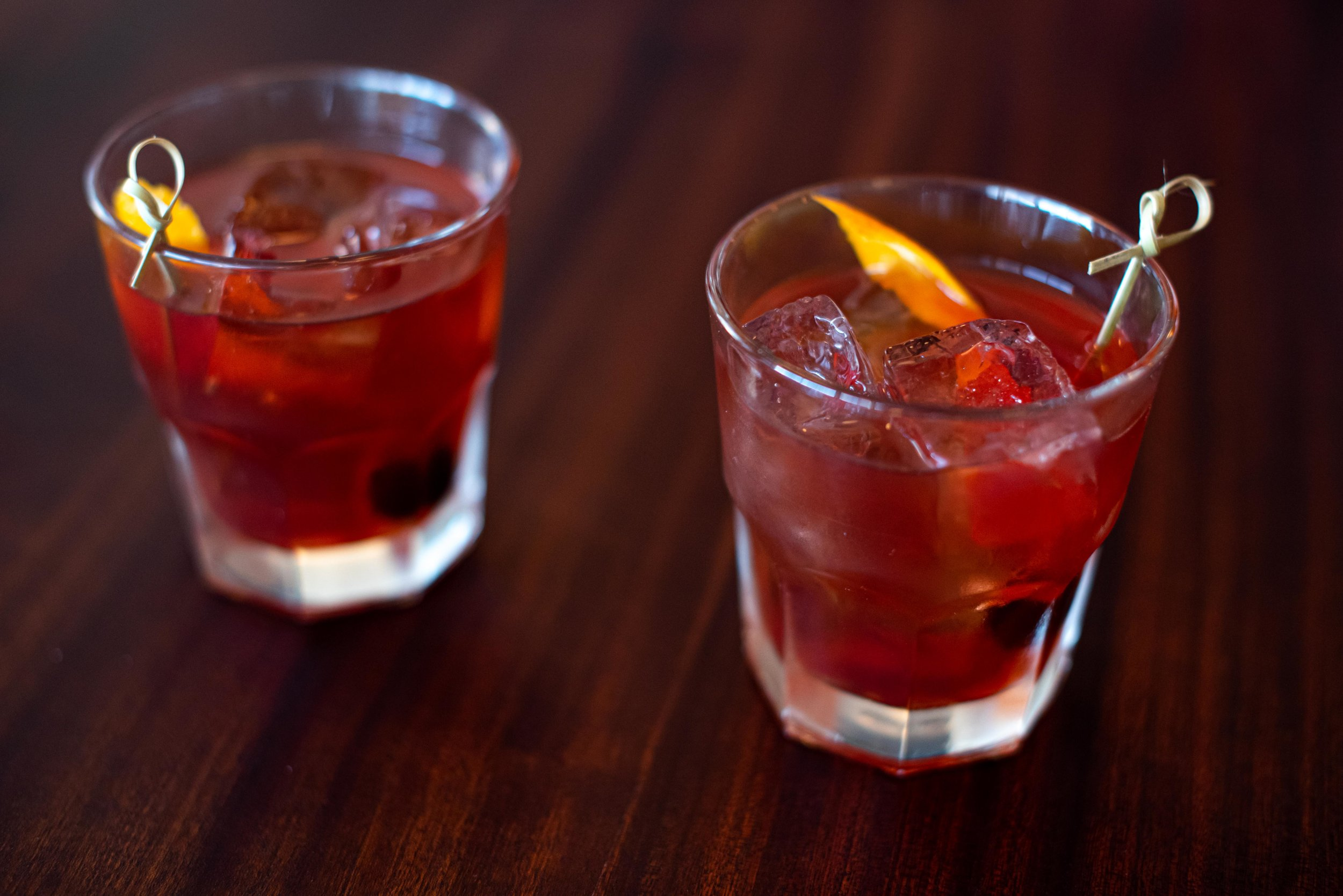 Old-Fashioned's are always welcome.
