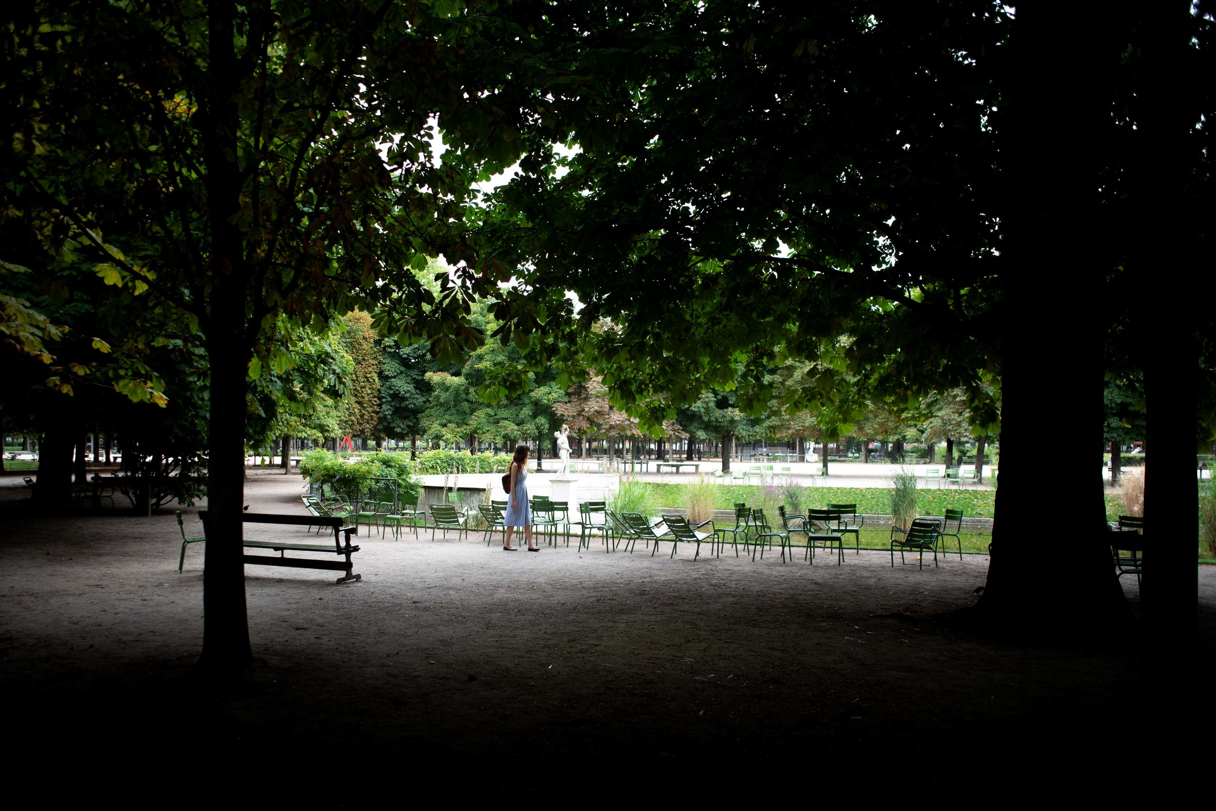 The Tuileries - - Buy this print  here .