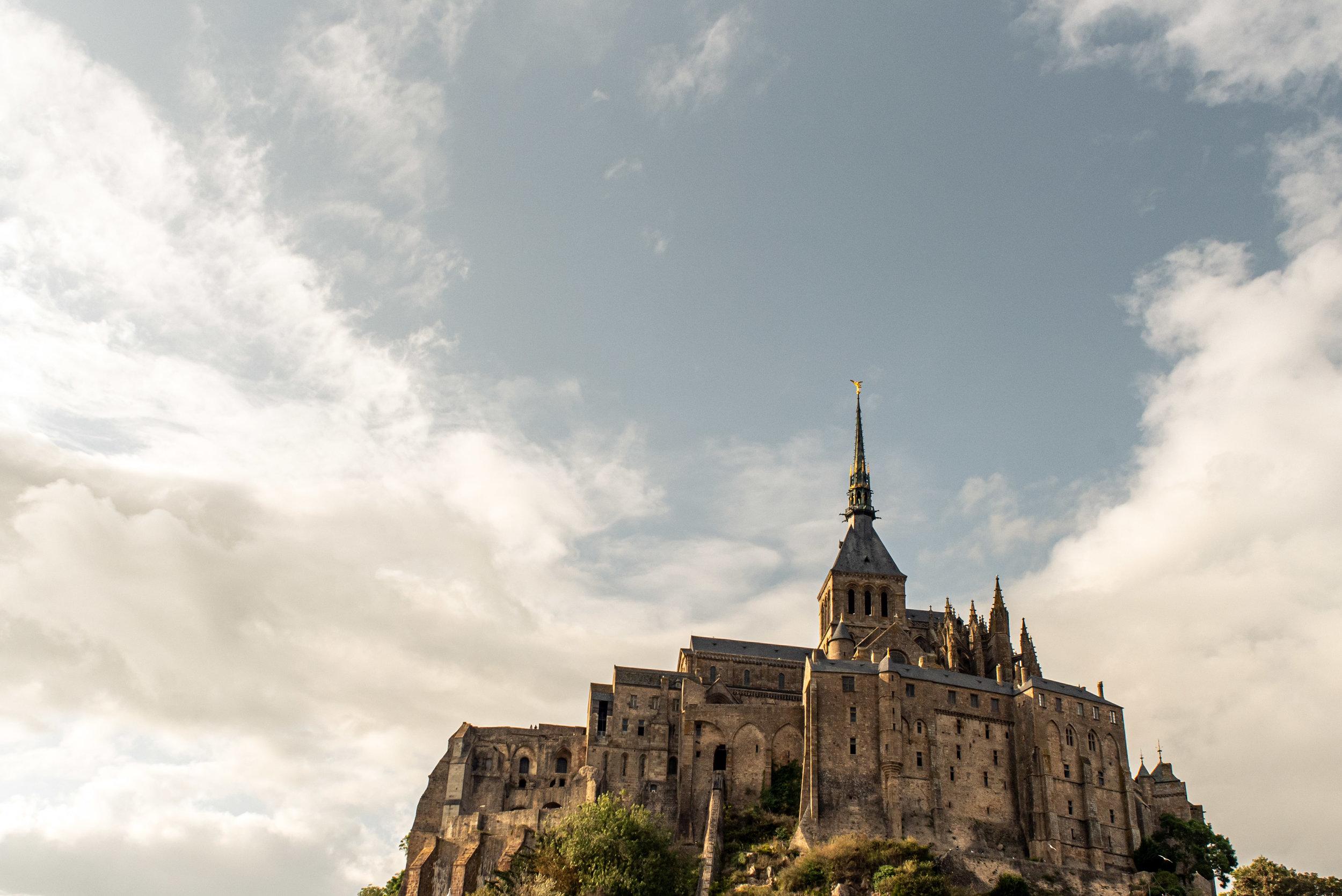 Mont Saint-Michel - - Buy this print  here .