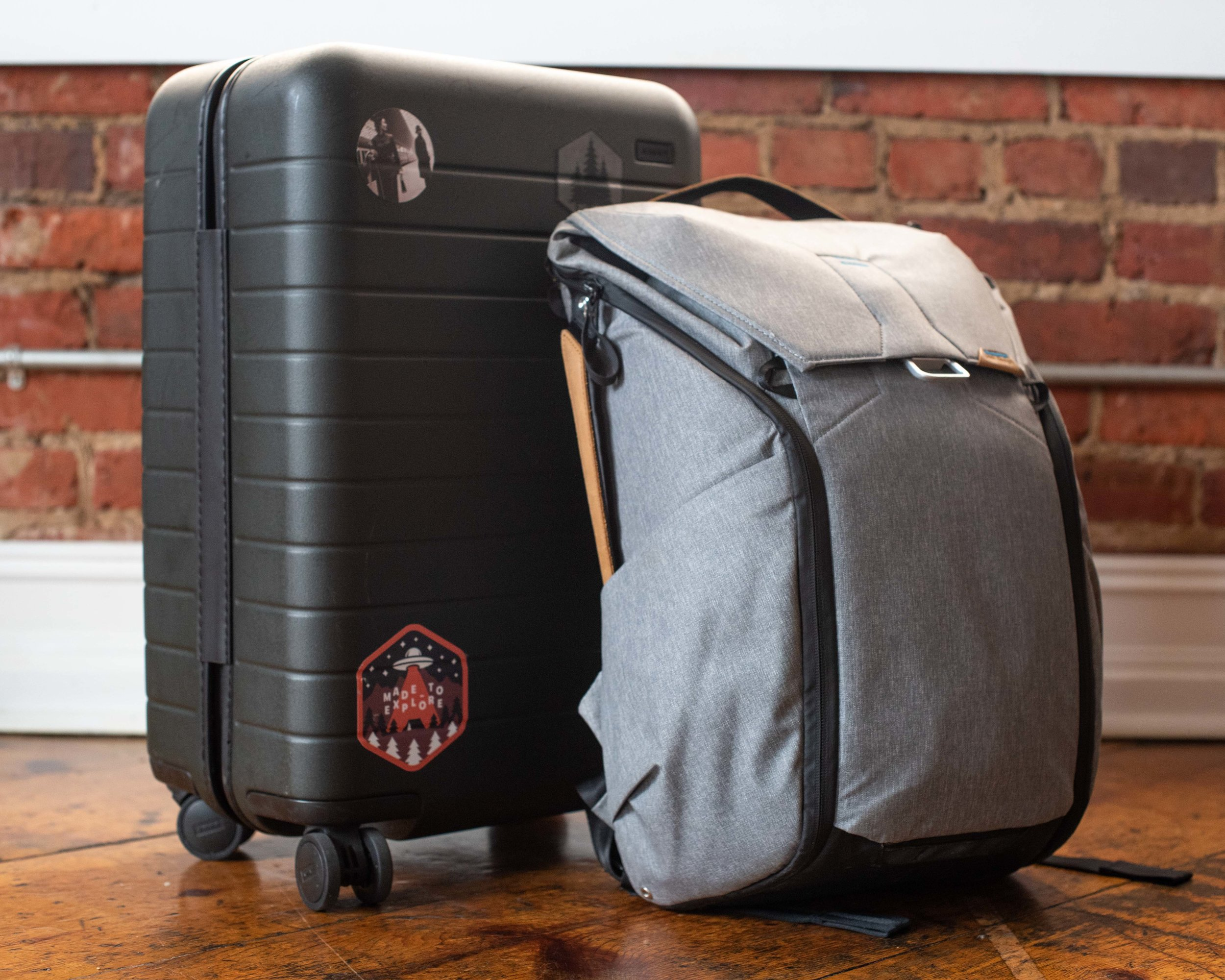 Away Carry-on and Peak Design 30L Everyday Backpack