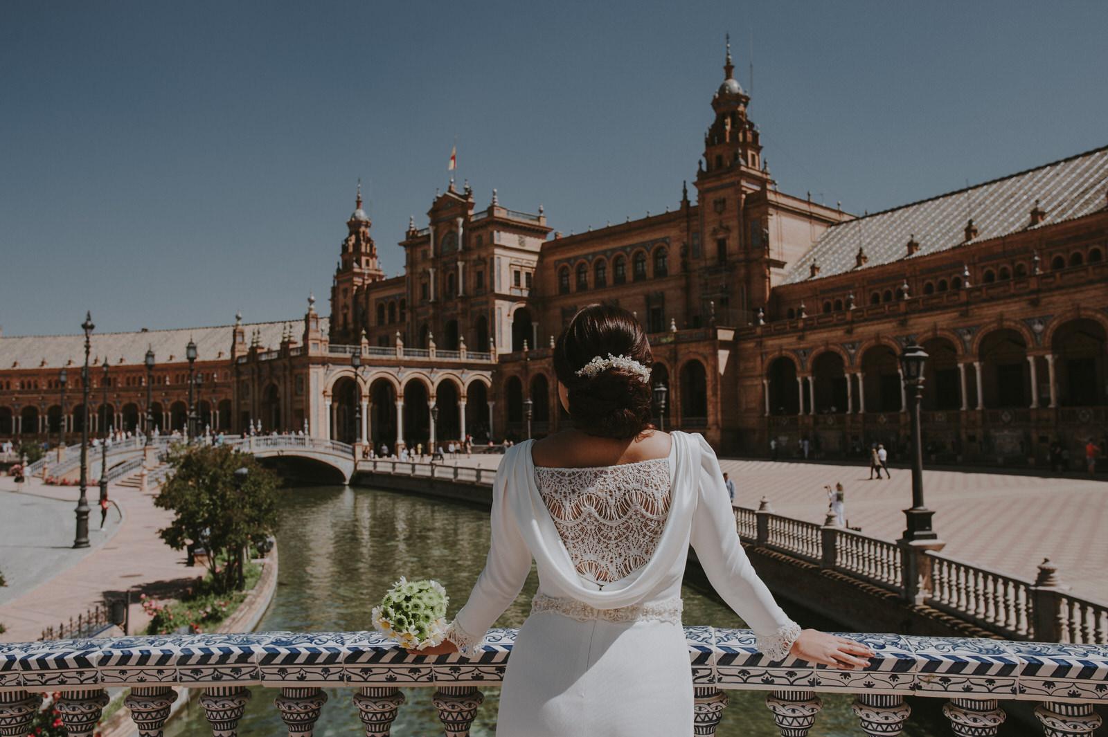 Fotografo de Boda en Sevilla - Andrés Amarillo - Plaza de España- Sevilla.jpg