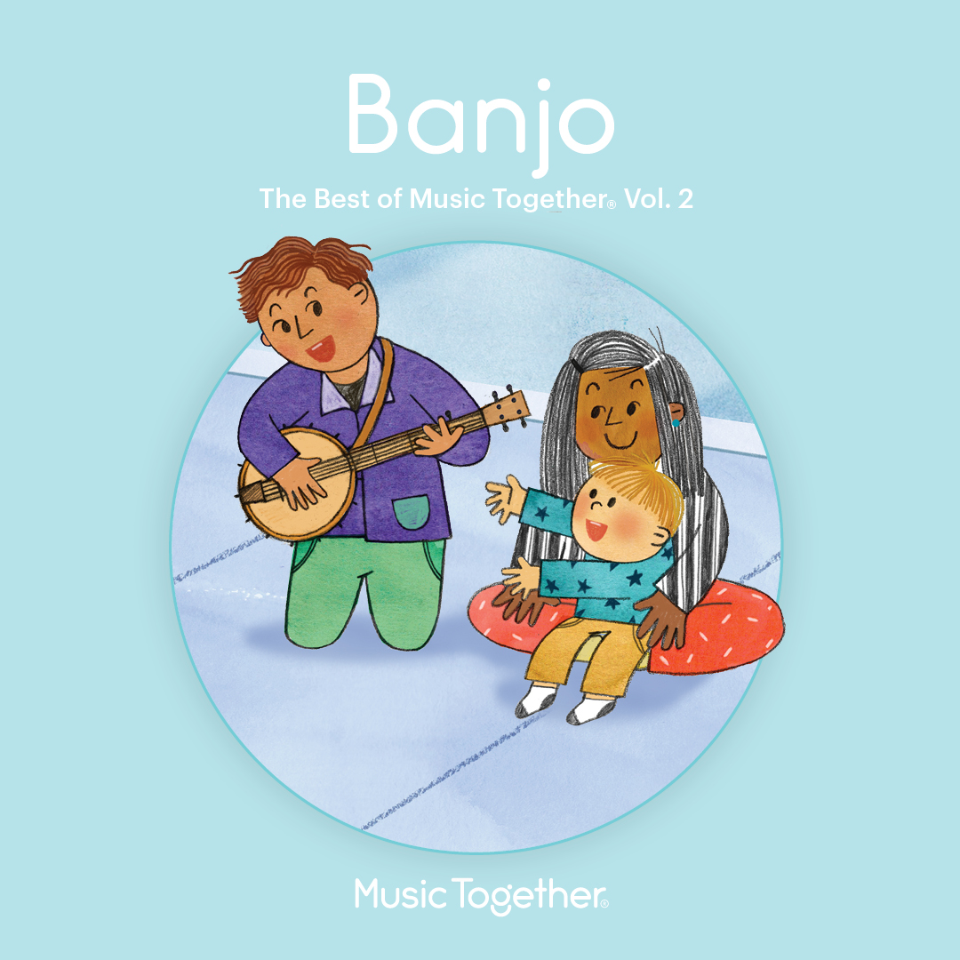 New Songbook this Summer! - The next edition of the family songbook is debuting this summer with a compilation of Music Together favorites, Banjo: The Best of Music Together, Volume 2 (formerly Summer Songs 2). Each song is brought to life through colorful and engaging illustrations by award-winning artist Jaime Kim and children's book illustrator Gerald Kelley. The new book will inspire your family to play with music all week long. You'll find it helpful to learn the lyrics, as a jumping-off point for creative storytelling, and to learn more about the songs you're singing in class. Your child may enjoy snuggling with you and singing through the whole book at once—or opening to a page to tell you what song they want to sing!About the IllustratorsRead more about Jaime Kim on her website: https://www.jaimekim.com.See more of Gerald Kelley's work on his website:https://www.geraldkelley.com