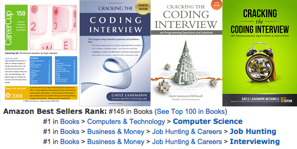 The evolution of  Cracking the Coding Interview : 2008 to Now