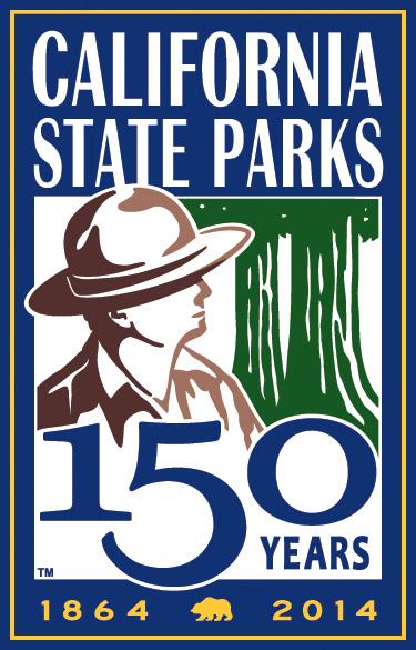 CA State Parks 150 Logo