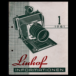 Linhof Informationen 1 - 1951_German Language