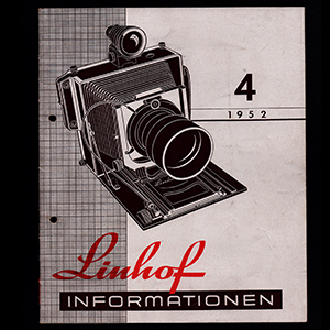 Linhof Informationen Nr. 4 1952_German Language