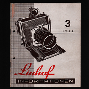 Linhof Informationen 3 - 1952_German Language