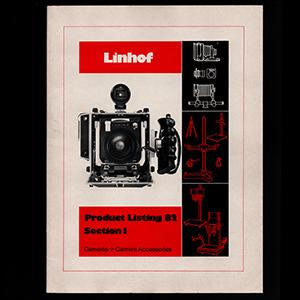 Linhof Product Listing 1982 Section 1_English Language