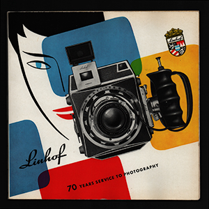 Linhof 70 Years of Service to Photography Book 1957_English Language