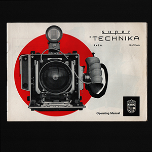 Linhof Super Technika V 4x5 Instruction Manual 1969_English Language
