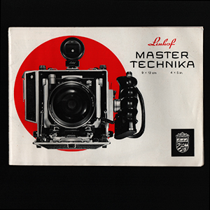 Linhof Master Technika 4x5 9x12 Instruction Manual 1976_German English French Spanish Languages