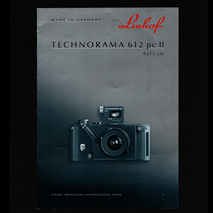 Linhof Technorama 612 PC II Brochure 2002_English Language