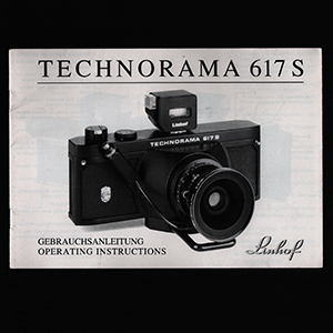 Linhof Technorama 617s Instruction Manual 1992_German + English Languages
