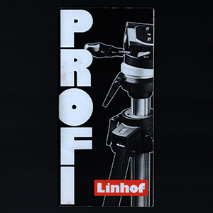 Linhof Profi Stativ Tripod English & German Language 1989