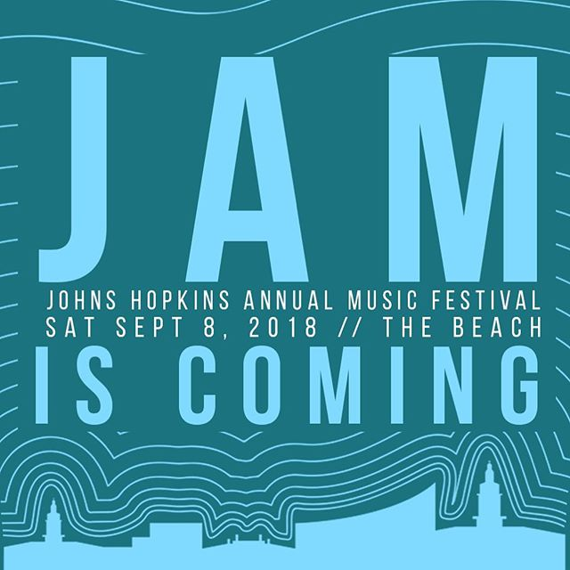 Big things are lined up for JAM this year... keep an eye out for upcoming announcements on the performer(s??) and other exciting events planned!! 👀⌛️