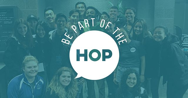 Interested in planning and creating events on campus? Got a knack for graphic design/marketing? Join the HOP. Come to our info session to learn more about what we do and how to apply!! Link in bio for our application - due September 21st at midnight!