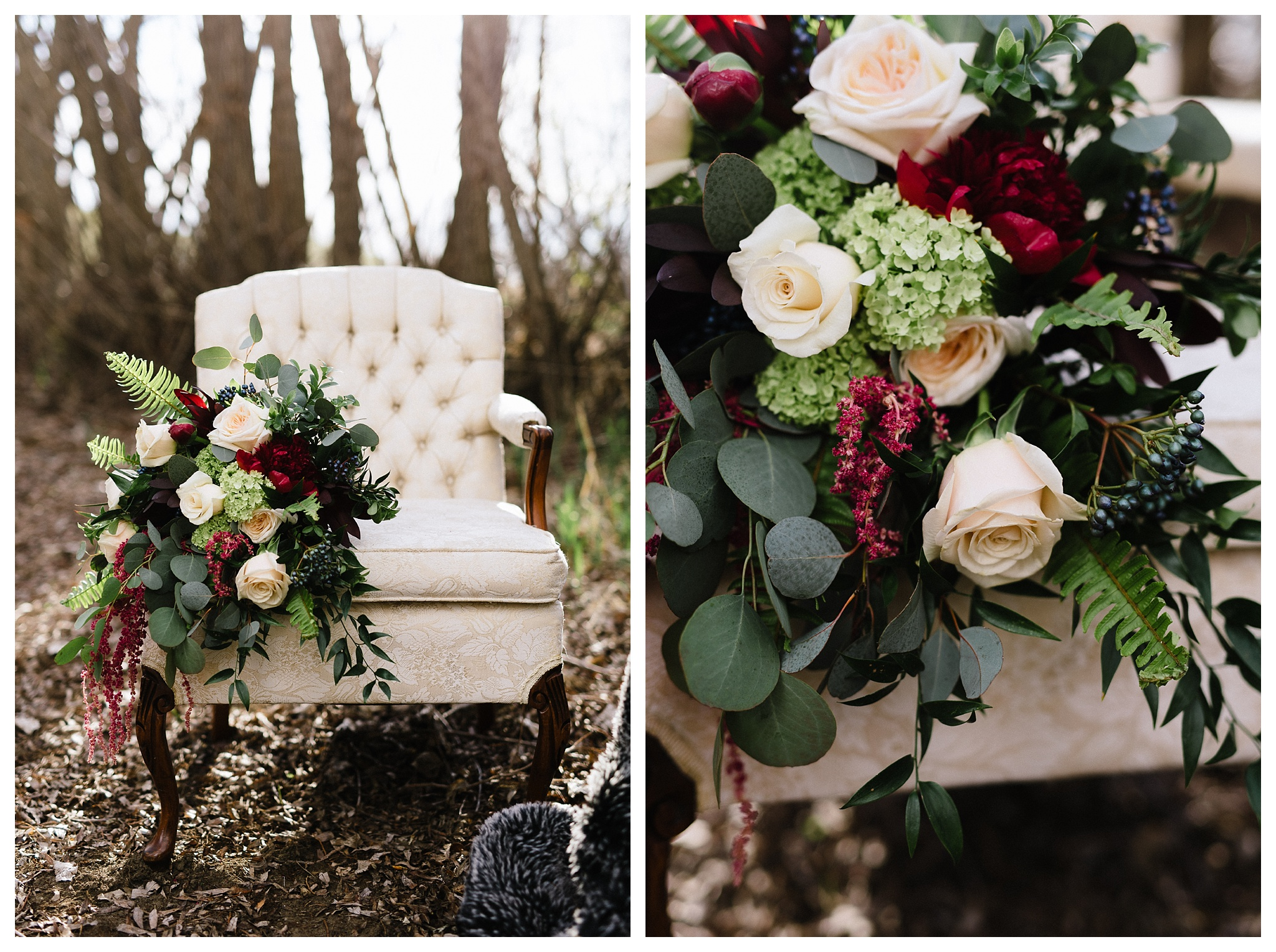 Florals by Fresh Flowers.