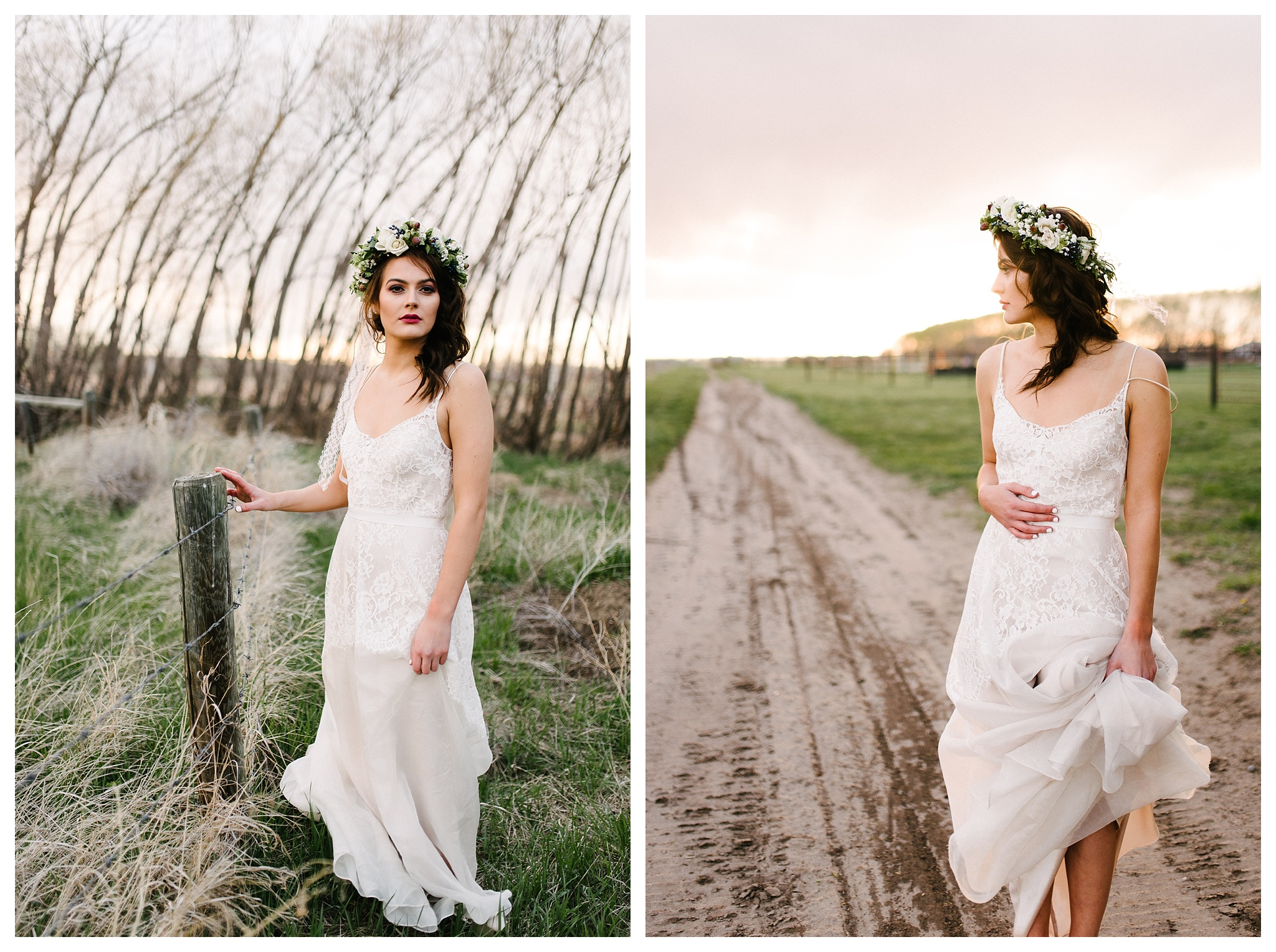 Gown- Amelie by Anais Annette.