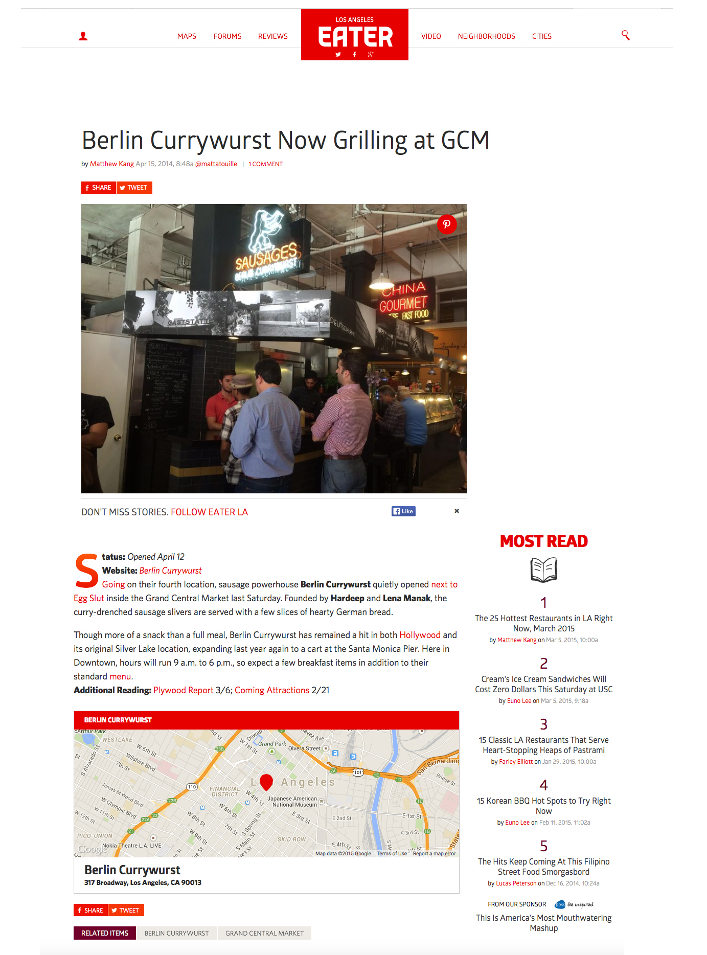 Berlin Currywurst Press