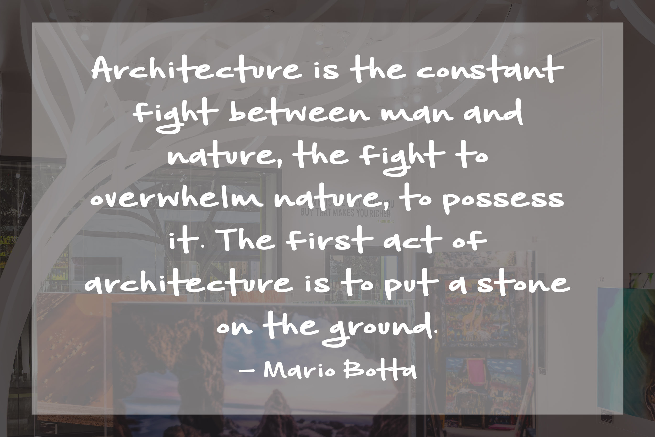 RELATIVITY ARCHITECTS QUOTE