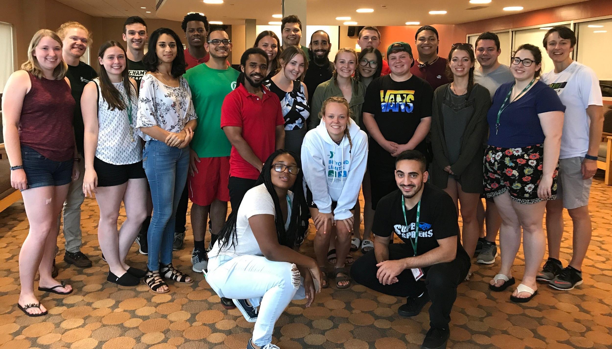 Mountainview Res Life Team at Binghamton