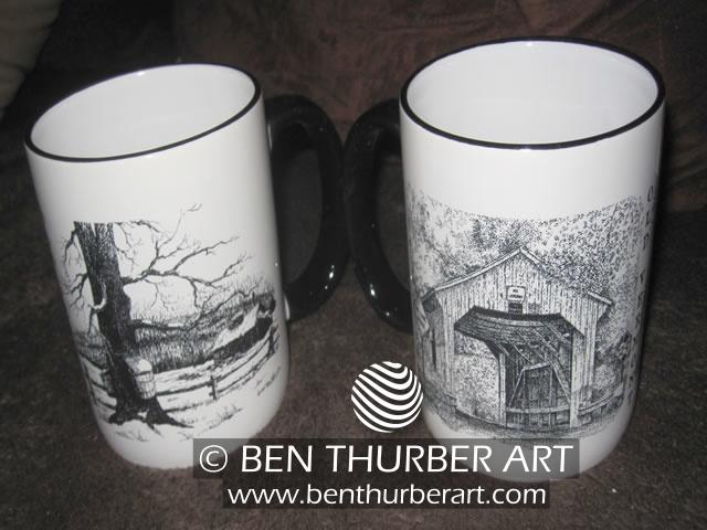 Sugaring & Covered Bridge Mugs