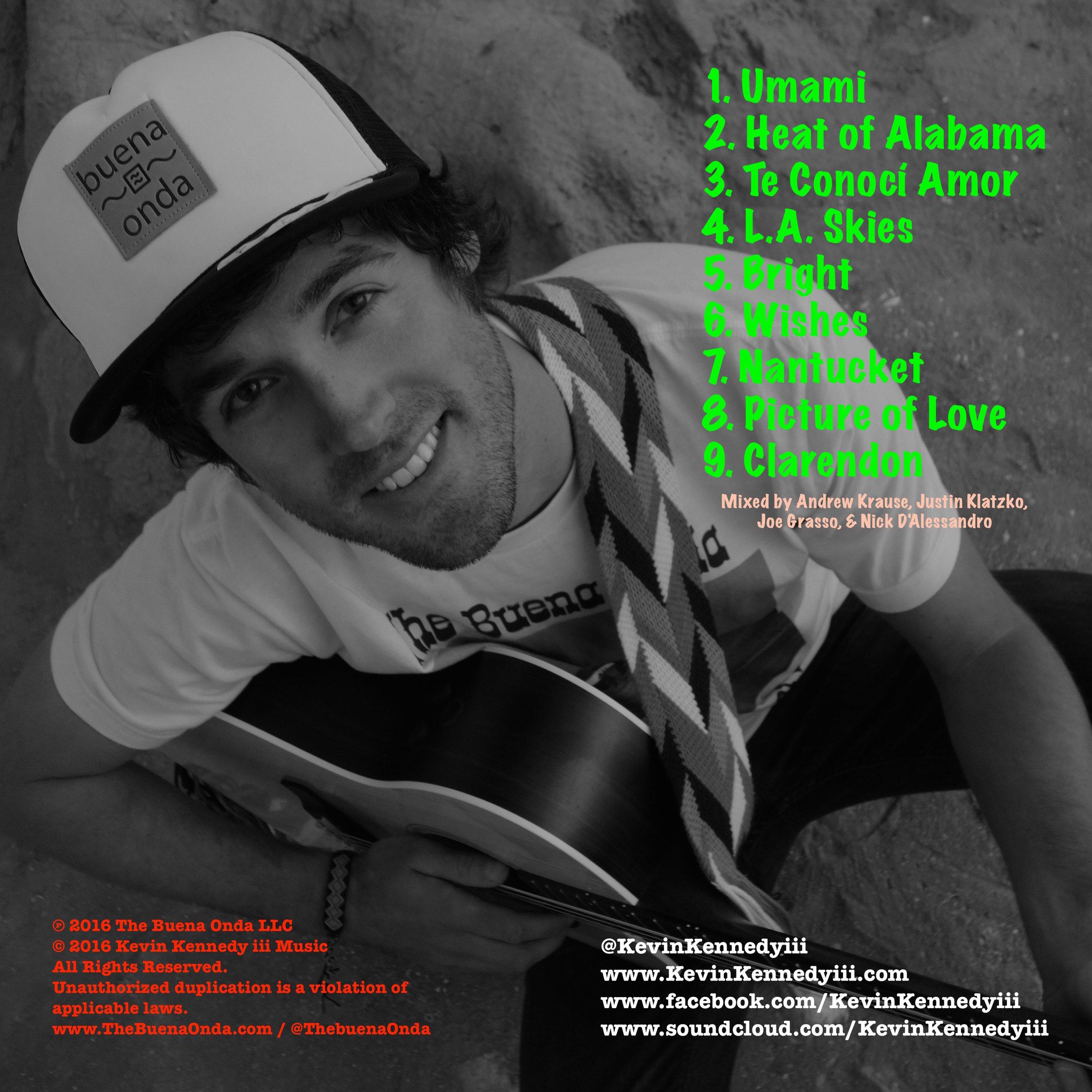 Kevin Kennedy iii - Umami Album