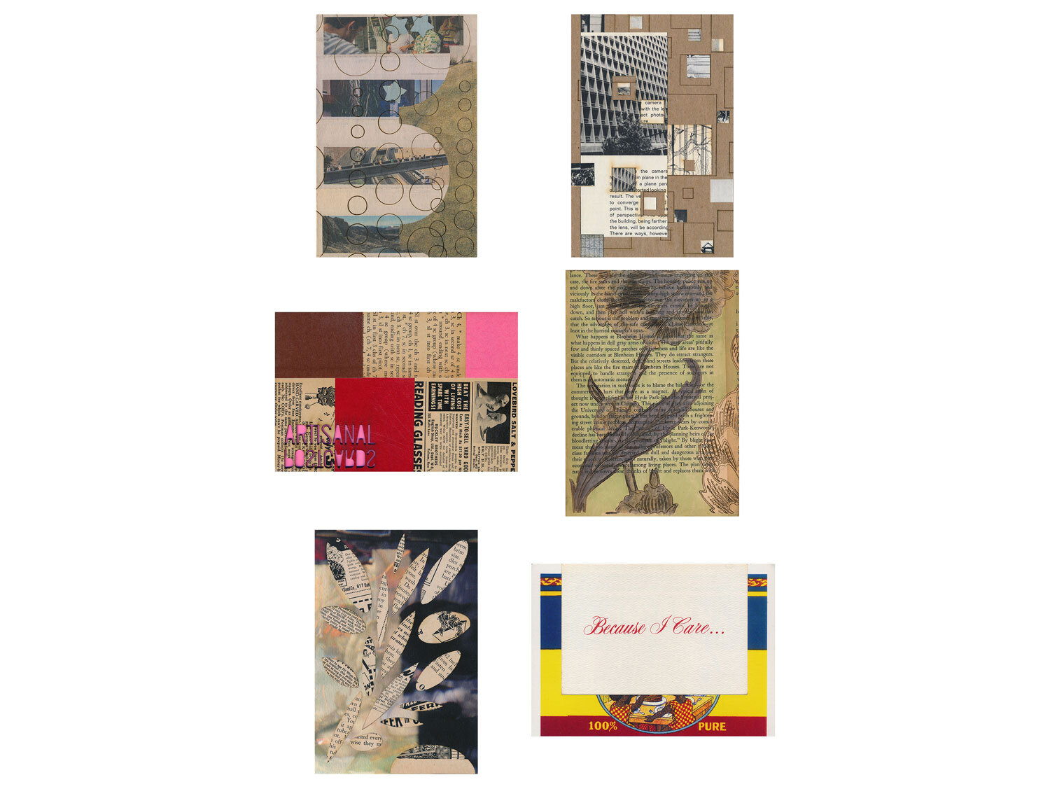 Six month mail art gift subscription, variety option, mailed as a postcard, to Dillon from Austen.  Artisanal Postcard Numbers 1,541 • 1,593 • 1,489 • 1,623 • 1,645 • 1,546