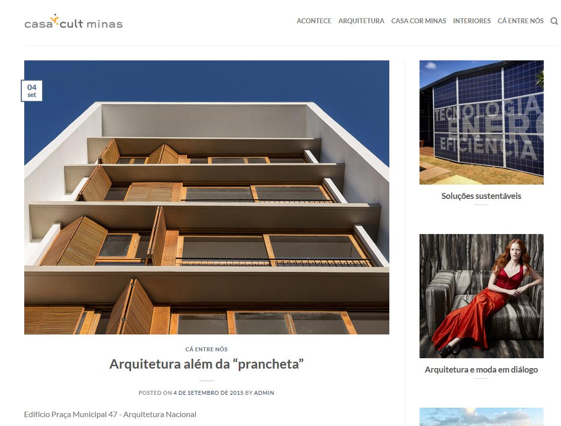 """Artigo """"Arquitetura além da prancheta"""""""