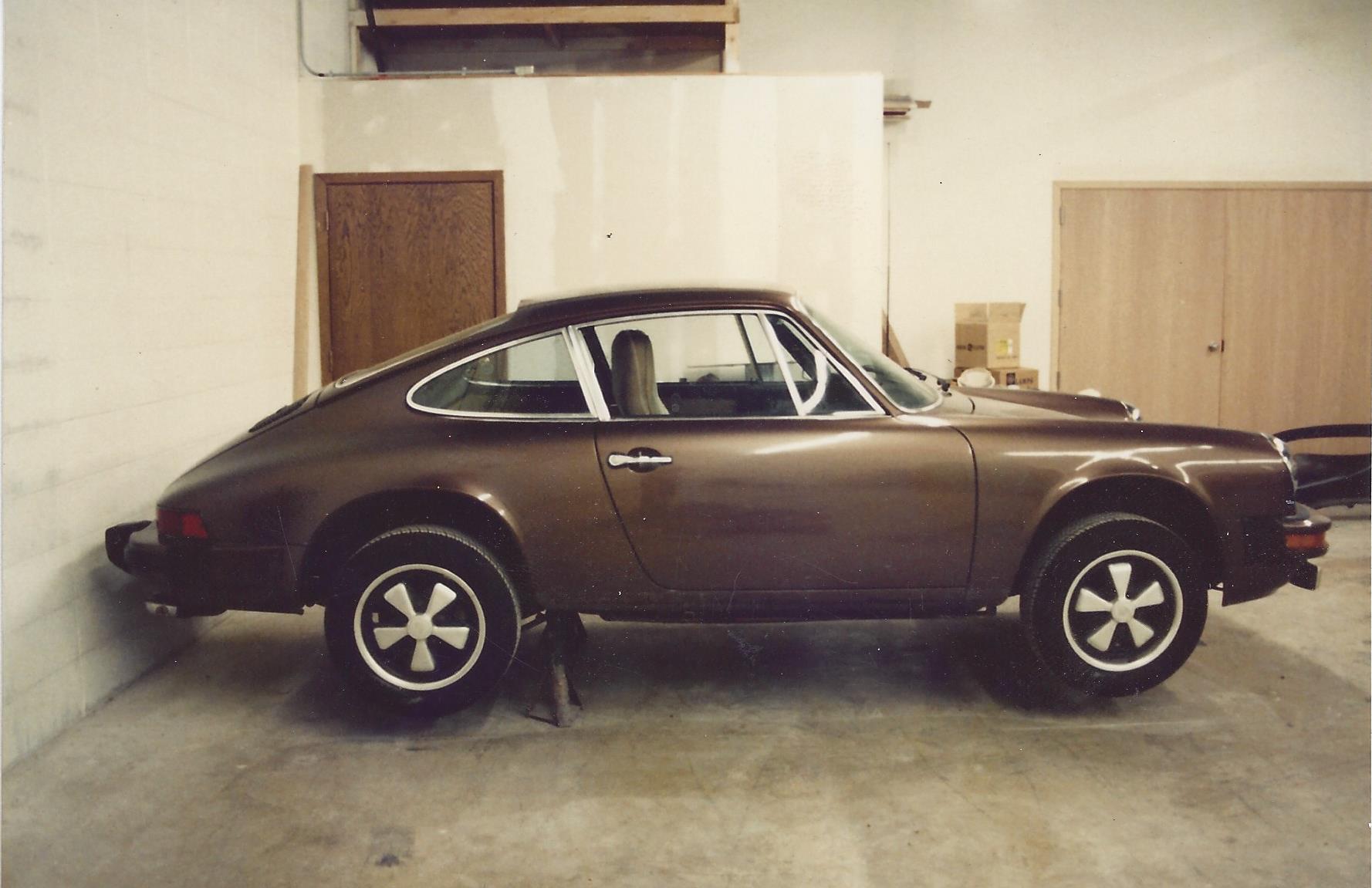 1974 Porsche Before