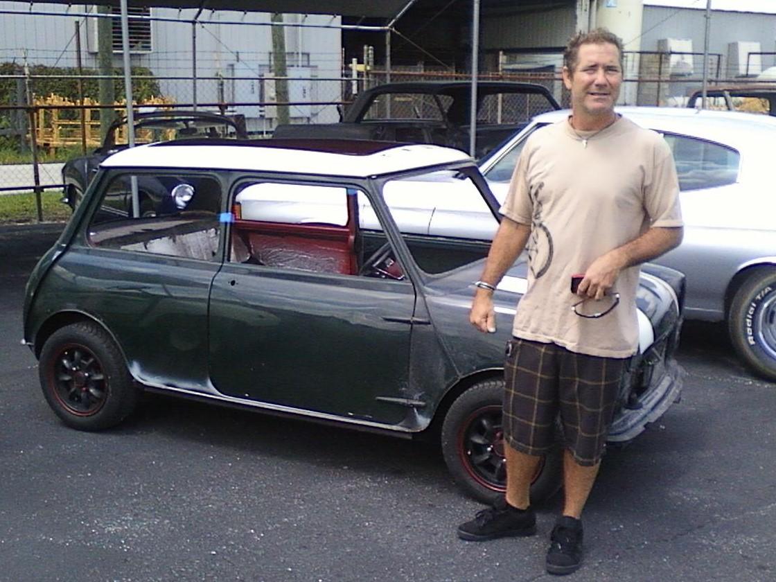 66 Mini Cooper Before