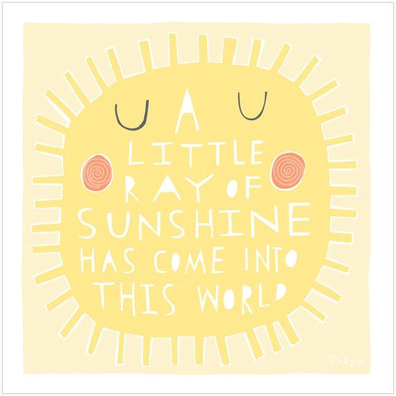 Adorable fine art print by Freya Art