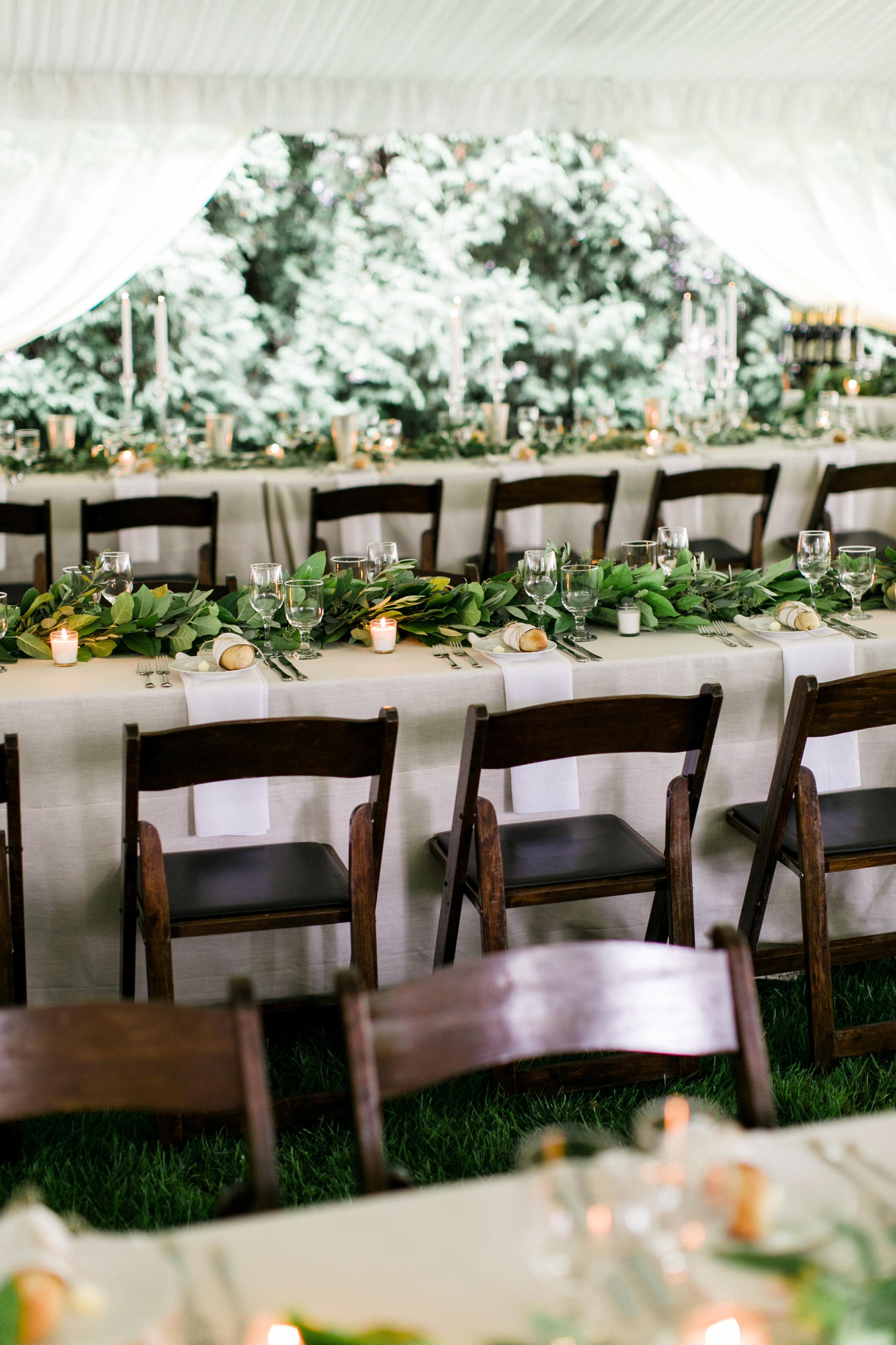 Custom Wedding Menus by Sable and Gray