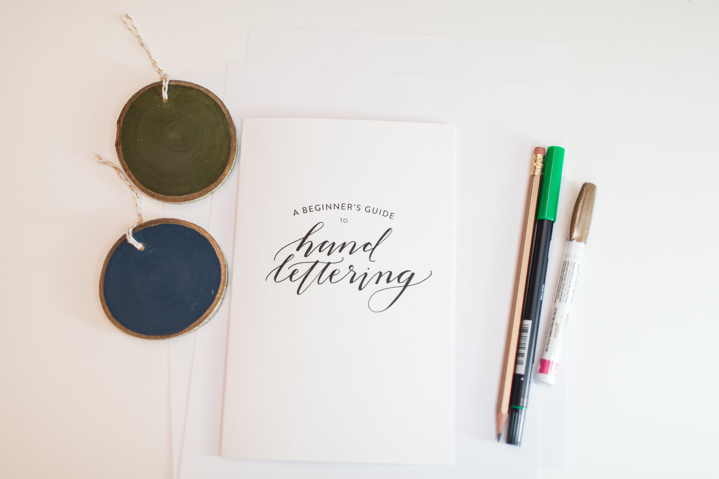 Hand-Lettering Workshop by Sable and Gray - Wren Photography