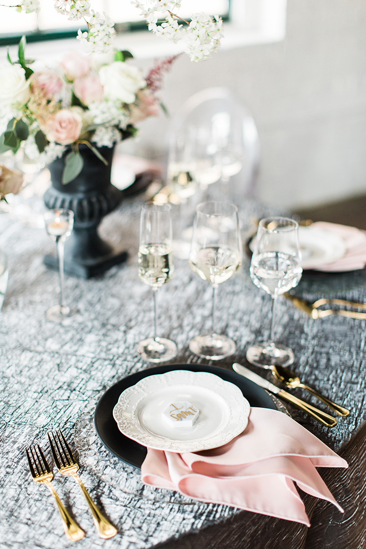 Sable and Gray Custom Wedding Inviitations