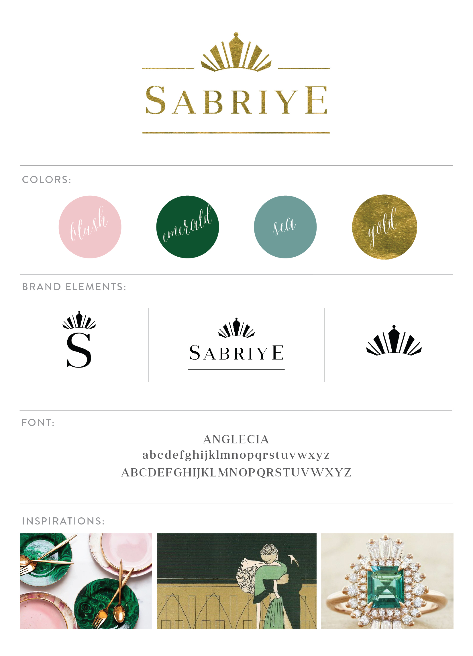 Sabriye Logo by Sable and Gray