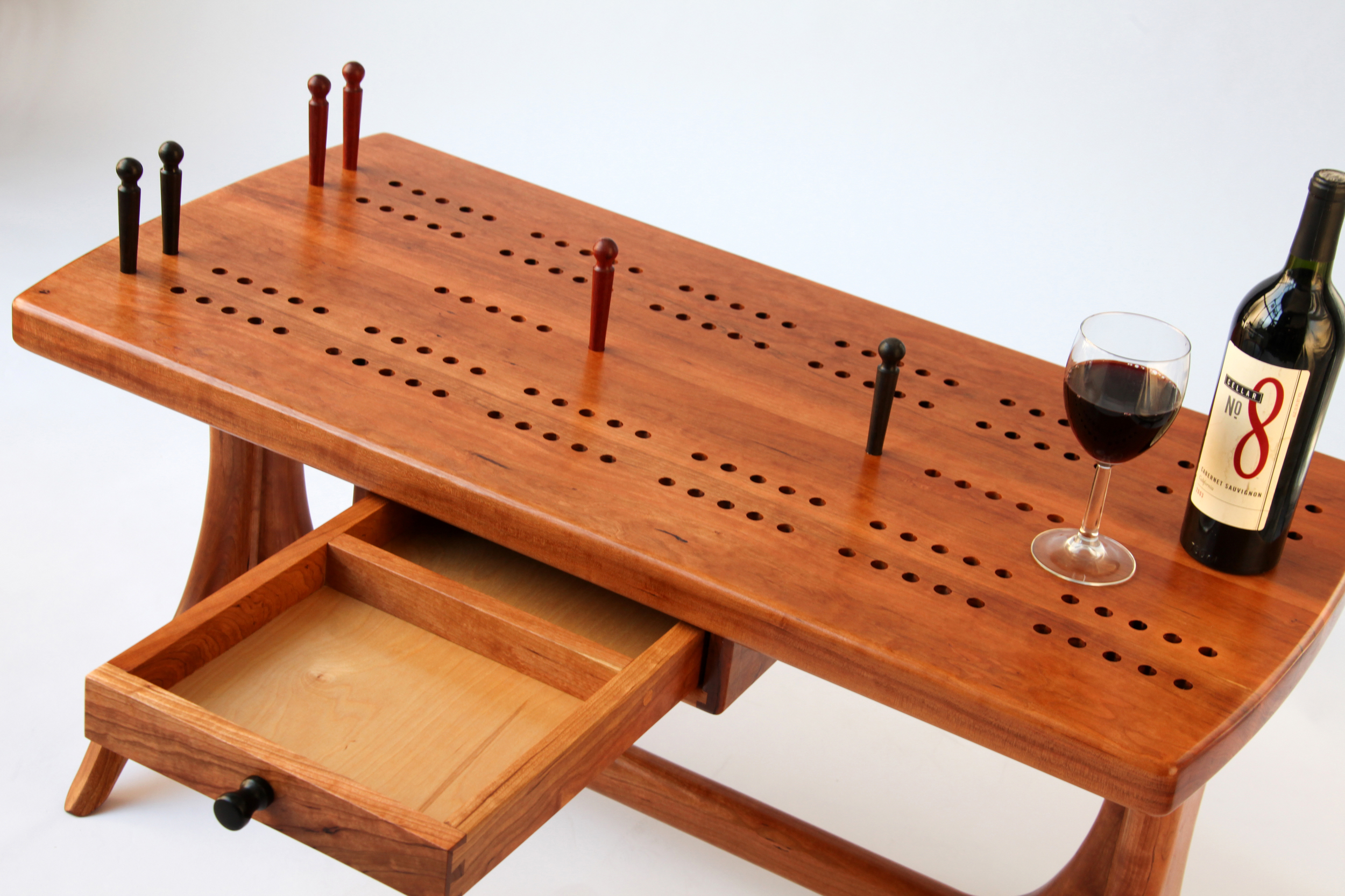 Cribbage Table by Steve Kratzer