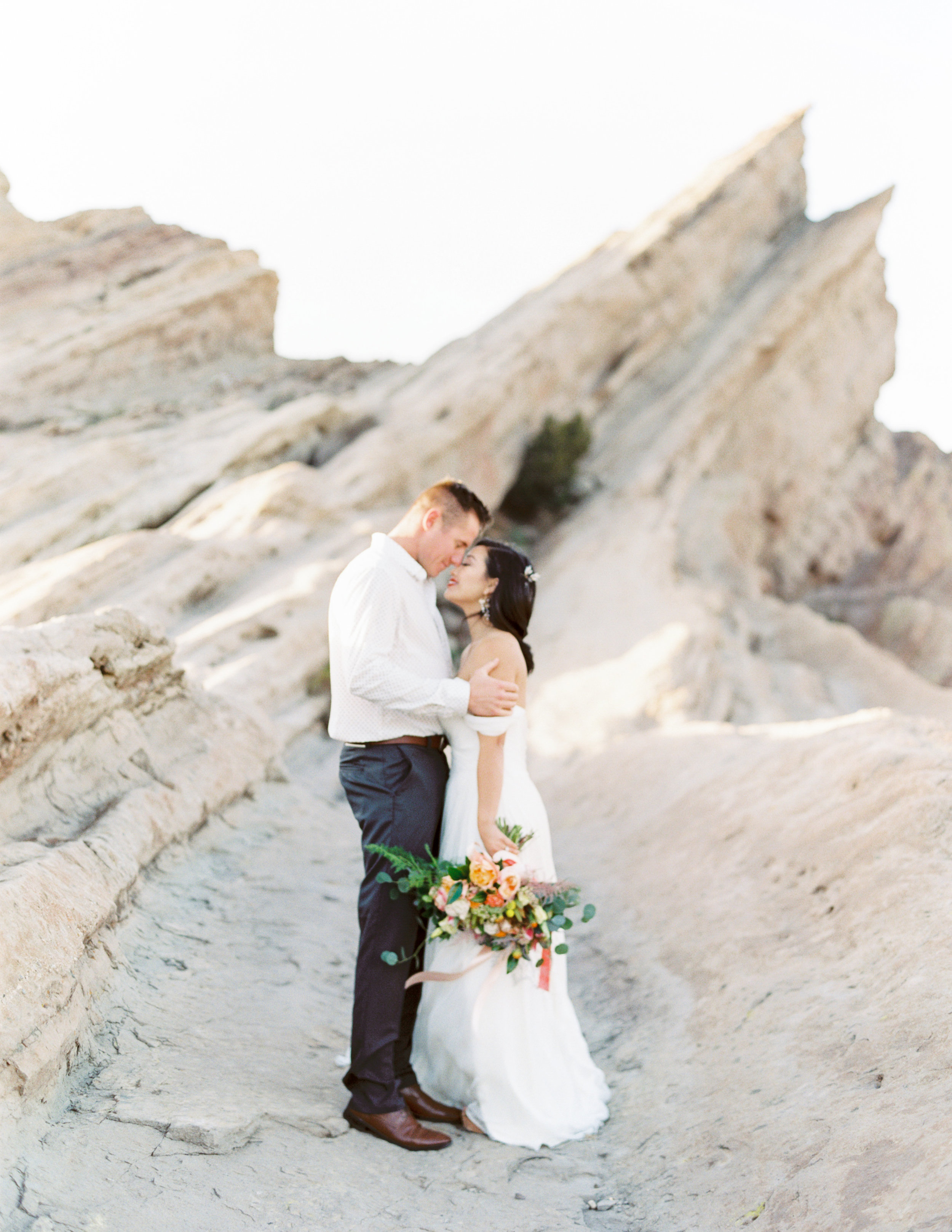 Vasquez Rocks Styled Shoot