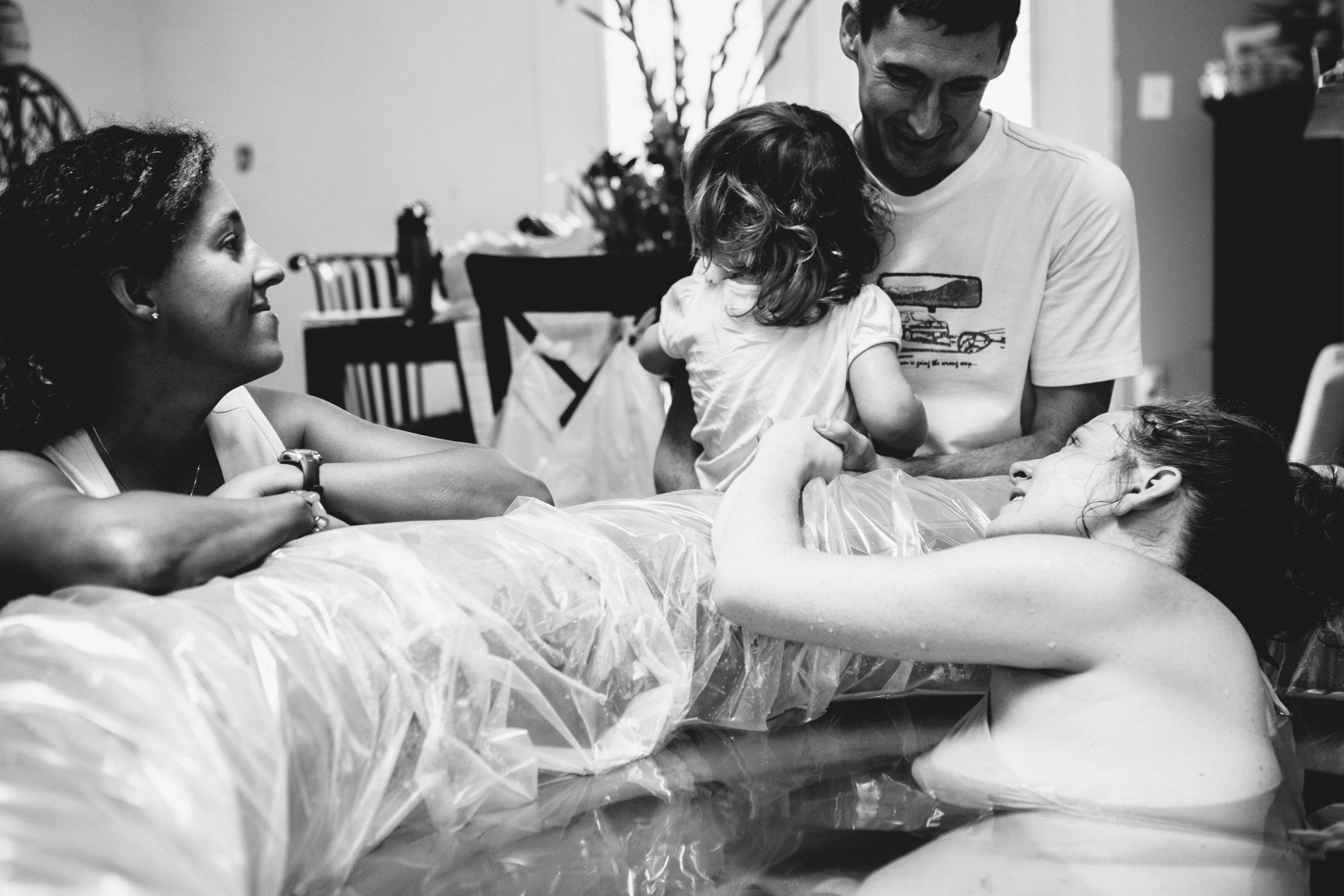 in labor with baby dragon ||heidi daniels