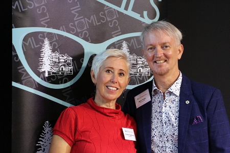 Film Festival organisers, Christina Gustavson and Mark Hodge