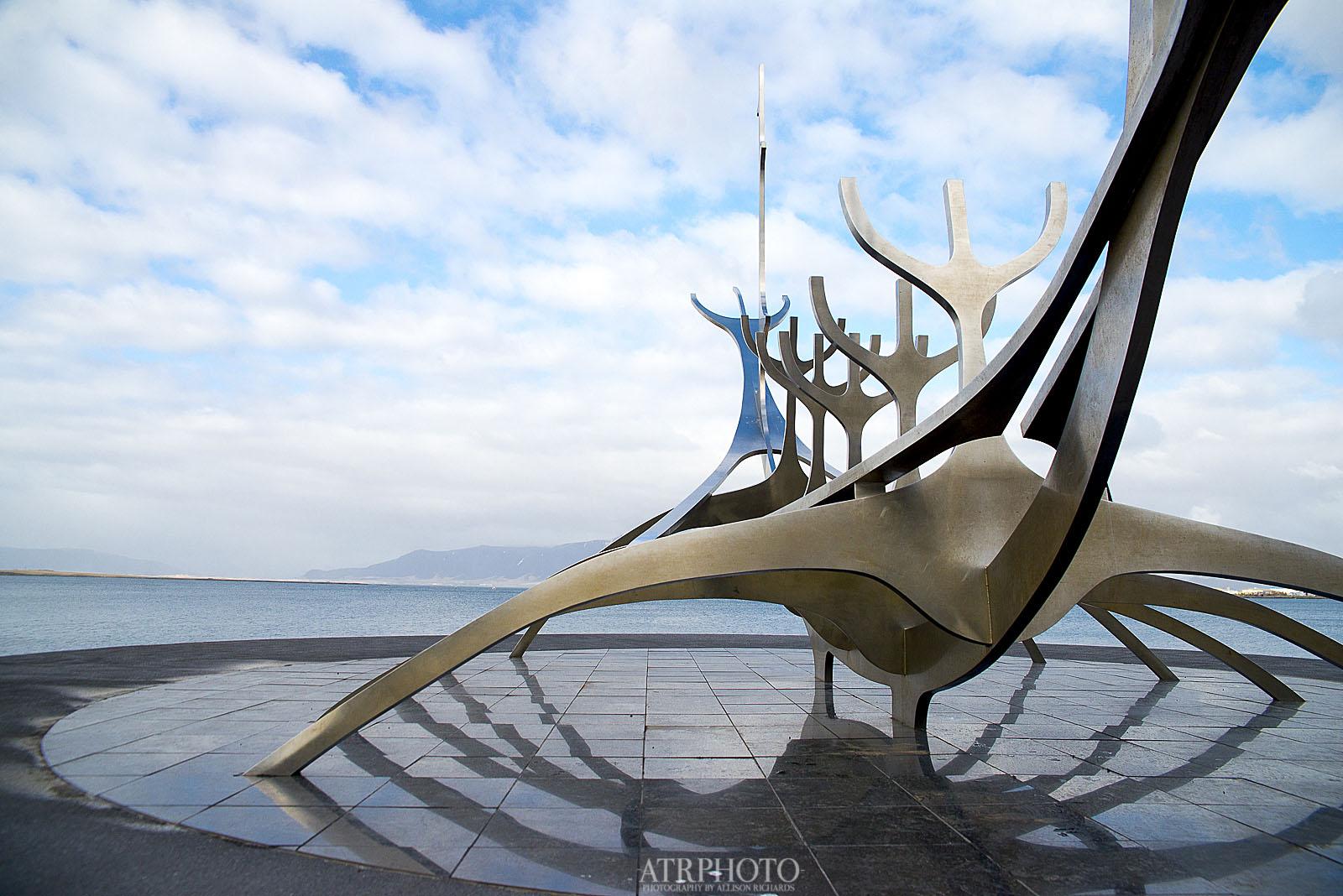 Viking Monument in Reykjavik
