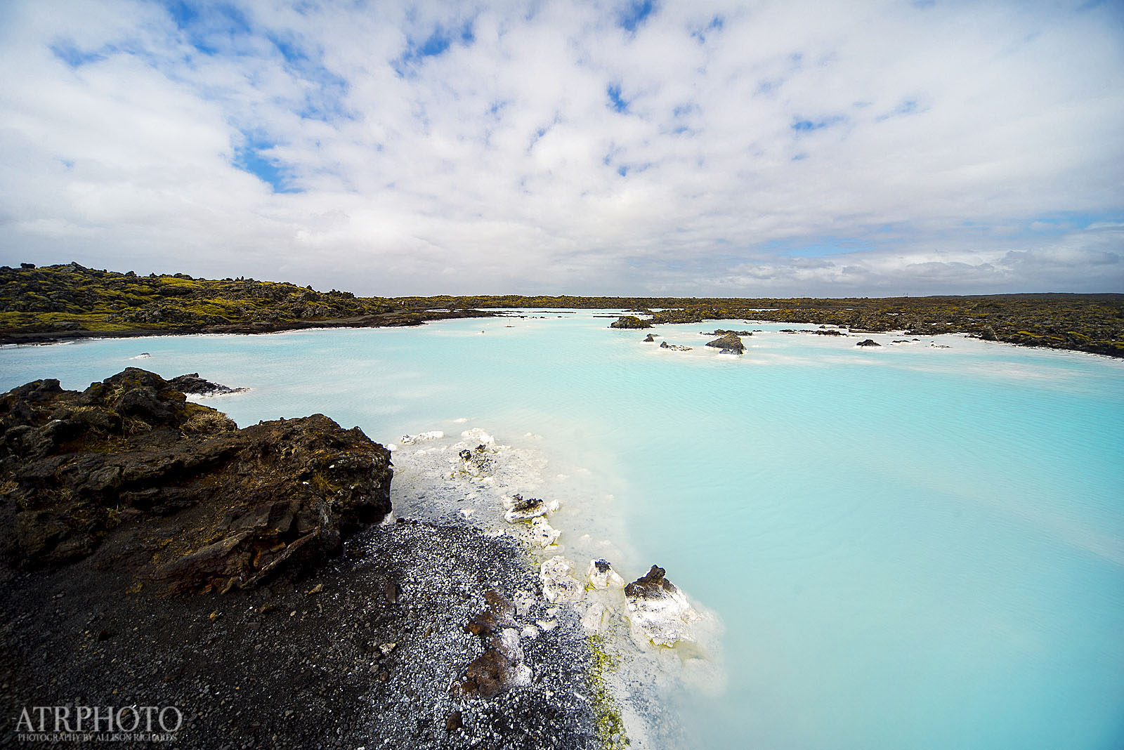 The geothermal waters of the Blue Lagoon