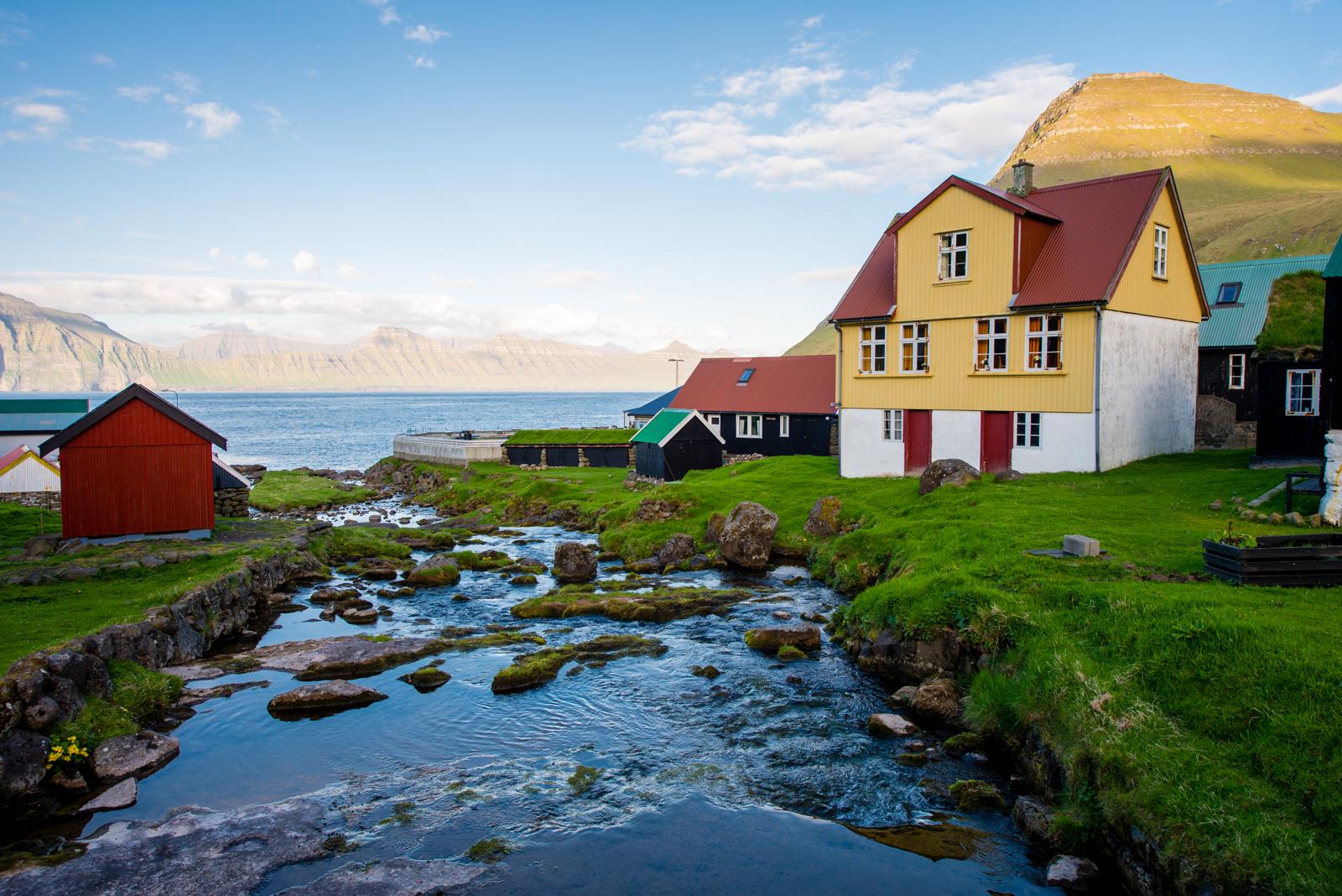 All the towns are this pretty. Gjogv, Faroe Islands.