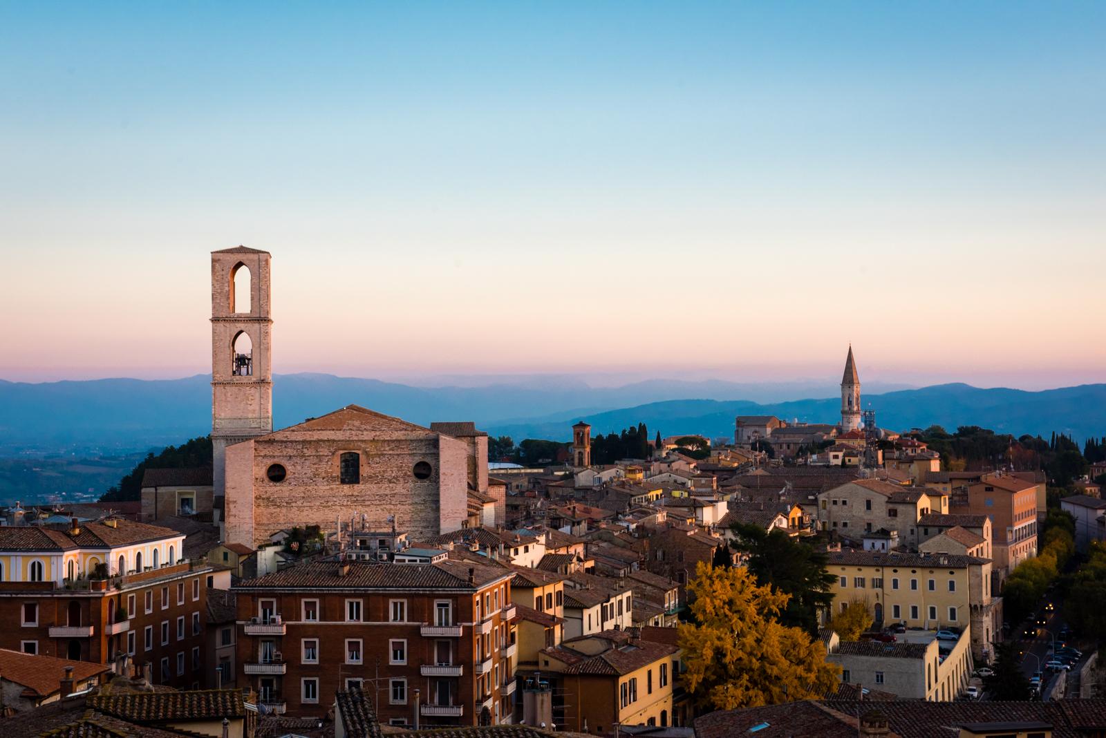 From Centro Storico, Perugia