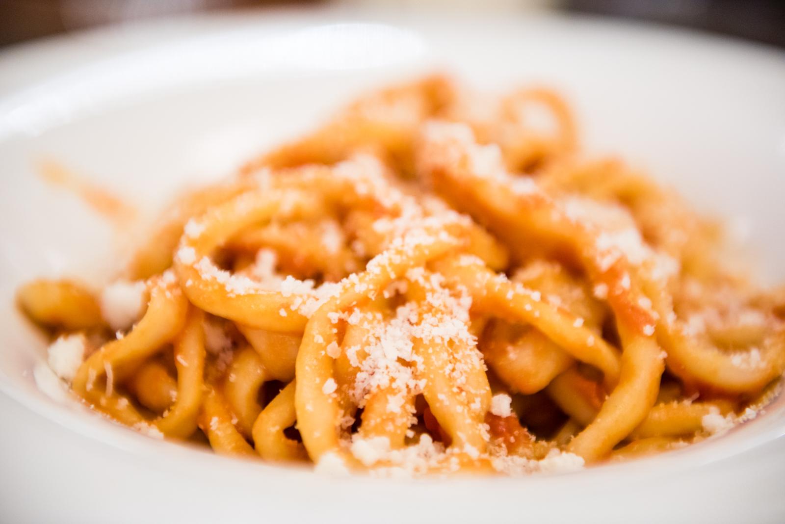Pici & Pomodoro, Parmigiano