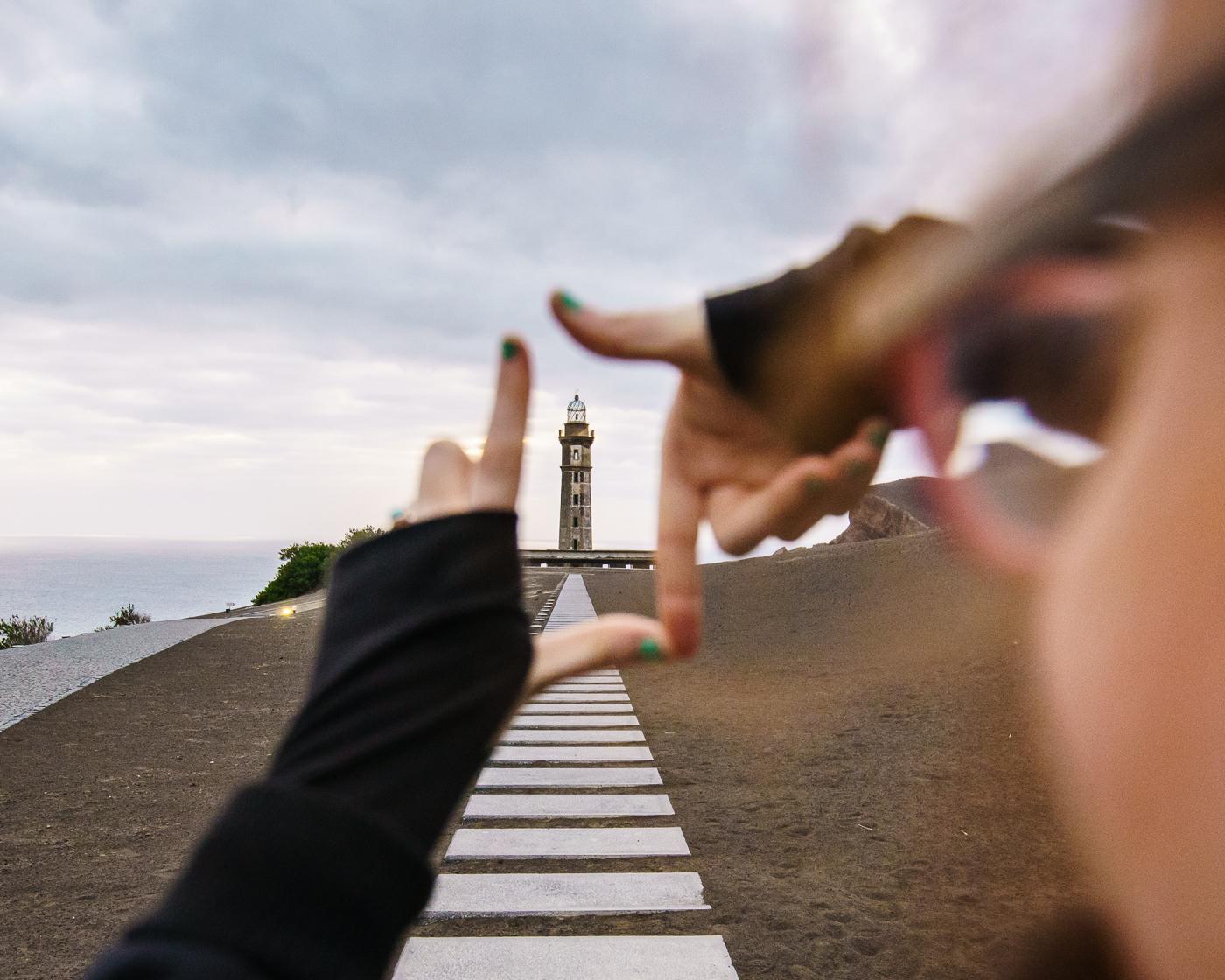 Framing up the Lighthouse © Paul Nguyen
